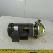 1 12 X 1 Stainless Steel Centrifugal Pump 3hp 208 230460v 3ph