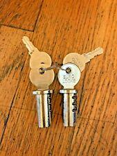 Lot Of 2 New Lock Amp Keys For Northwestern Oak Eagle Gumball Vending Machine