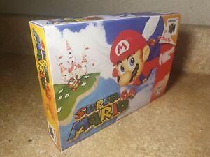 Super Mario 64 Nintendo N64 REPLACEMENT BOX