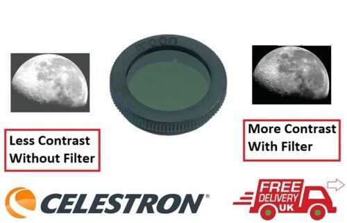 Reino Unido stock Celestron 1.25 Pulgadas Filtro Lunar 94119-A