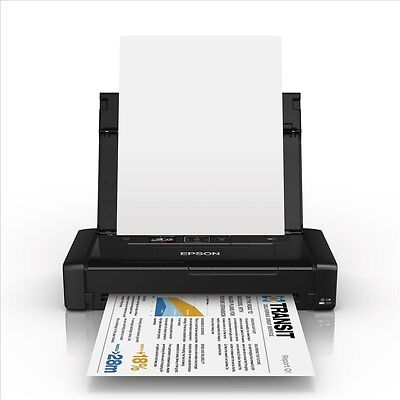 Epson Workforce WF-100W (A4) Colour Inkjet Wireless Portable Printer 3.7cm Color