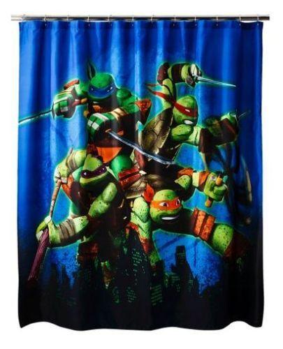 Star War Olaf TMNT Anna /& Elsa Hello Kitty Ariel Fabric Shower Curtains NEW
