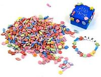 Pack of sealife beads in assorted colours 250 grams Plastic AP/674/CS