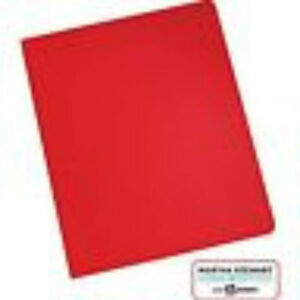 martha stewart 14906 home office with avery notebooks red 8 x 10
