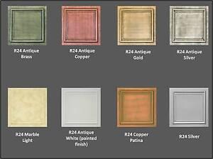 Details About Diy R24 Styrofoam 20 X 20 Tin Look Ceiling Tiles Different Colors