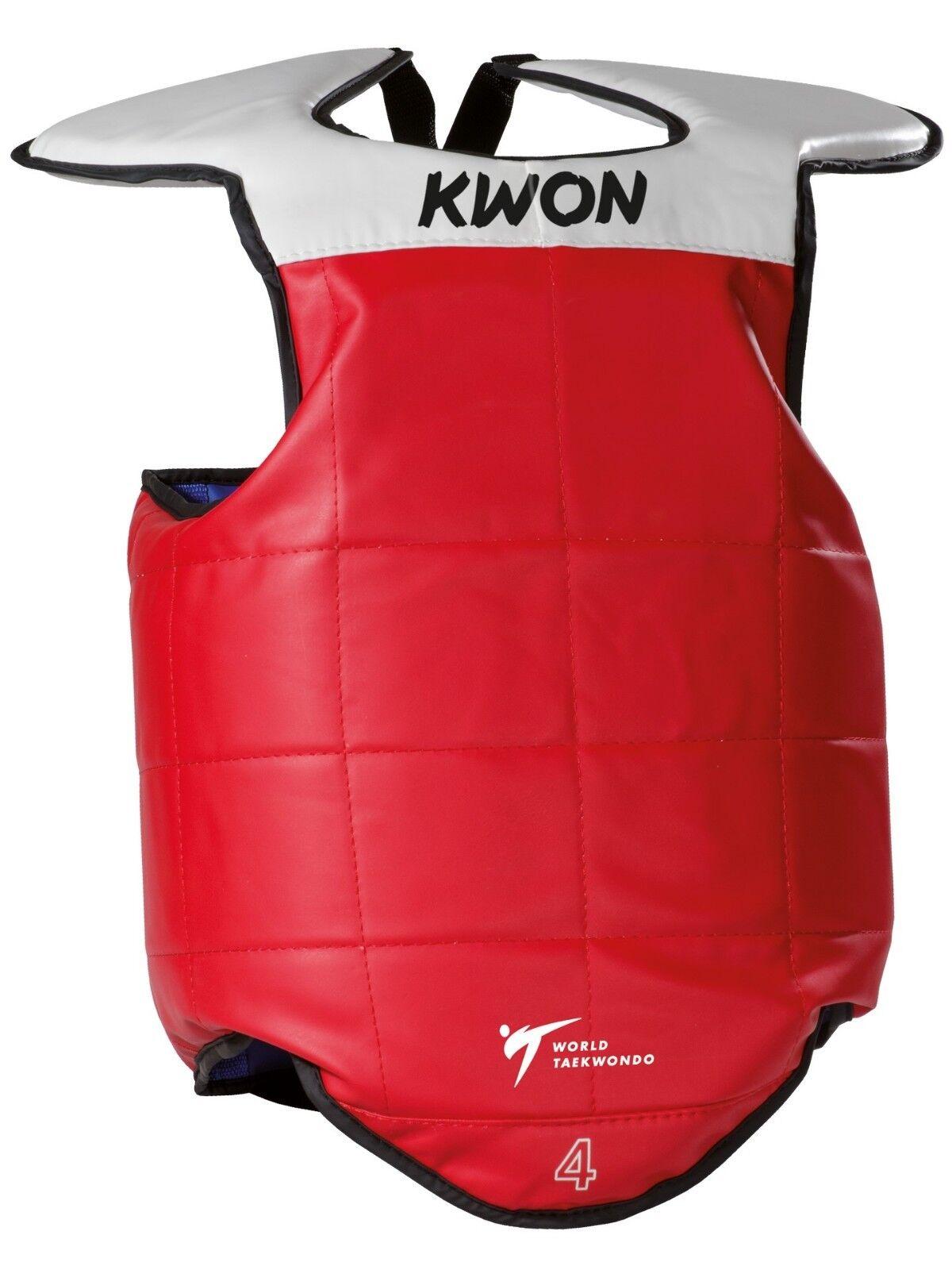 Wende Weste von Kwon, Kwon, Kwon, blau rot. Anerkannt von der WTF. Taekwondo, Kampfsport 8f340d