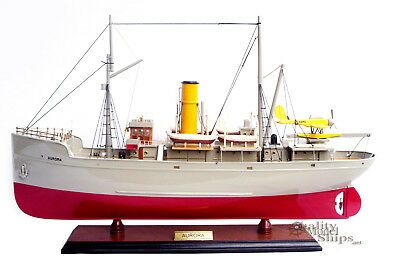 Aurora Fictional Ship Model in The Comic Story