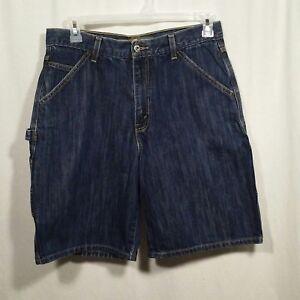 831892c8 Levi Silvertab mens jean shorts Size 33 Cargo denim pants | eBay