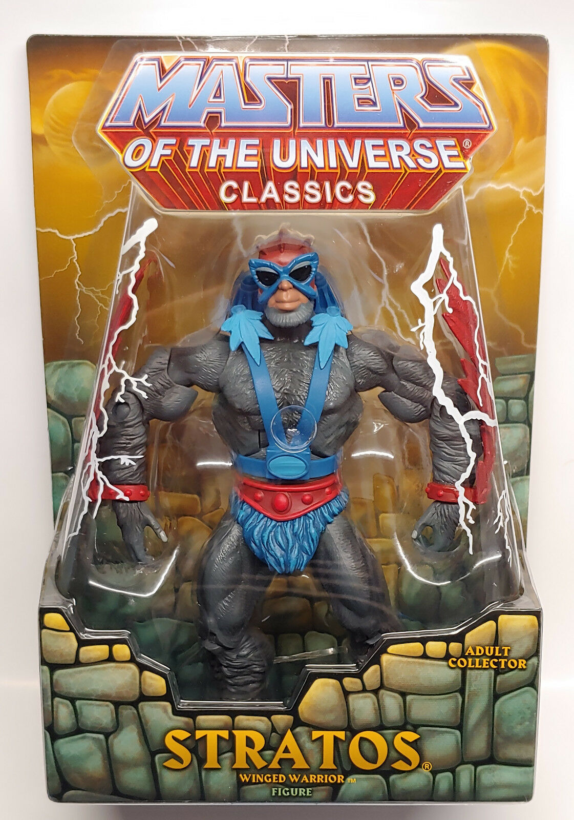 MATTEL MASTERS OF THE UNIVERSE CLASSICS STRATOS 6  ACTION FIGURE MOTU NEW SEALED