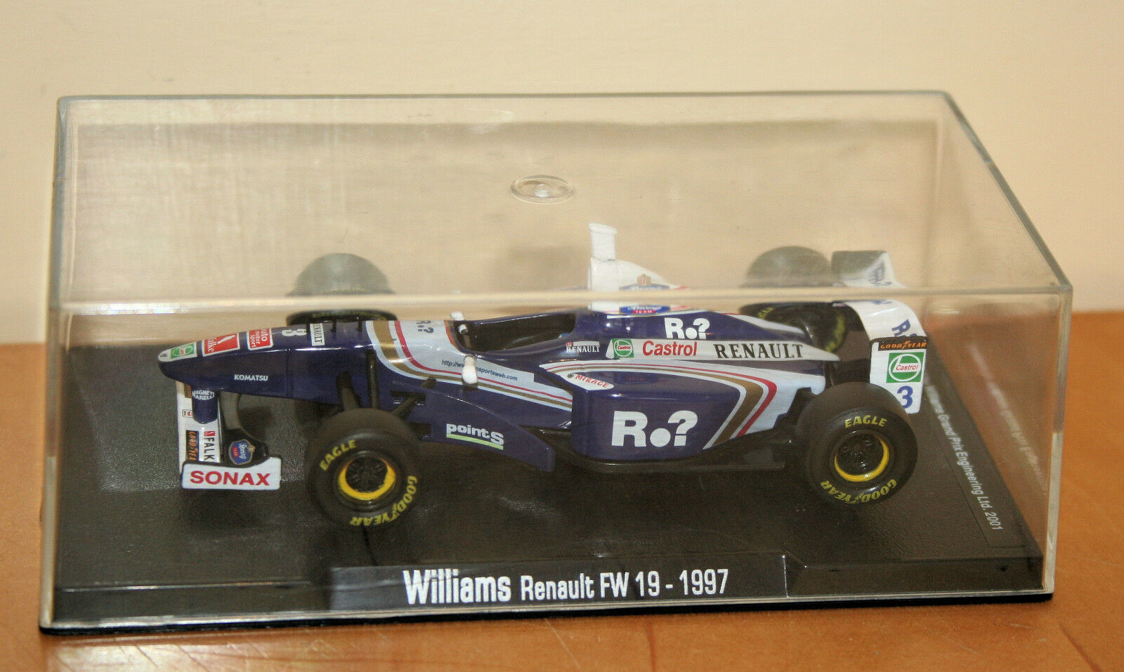 RBA Collectibles 1997 Willams Willams Willams Renault FW19 Mint Condition Boxed 007553