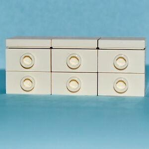 Lego Furniture Large Bedroom Dresser Chest White Minifiguresets