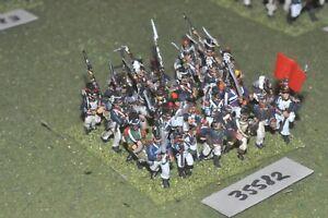 25 mm Napoléon / Français - Régiment 24 figurines Inf (35582)