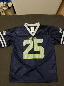 reputable site 33b69 acf94 Details about Youth Size Large (14/16) Richard Sherman Seattle Seahawks  Jersey