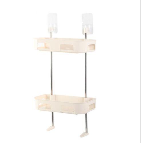 3 Tier Bathroom Shower Shelf Rack Organiser Bath Accessory Sets Plant new design