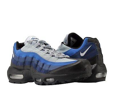 Mens Nike Air Max 95 Premium Sneakers, Black Binary Blue 749766 023 NEW IN BOX   eBay