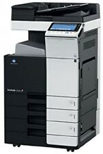 Konica Minolta Bizhub C554e Color Copier Printer Partial Tonerdrum User Cd