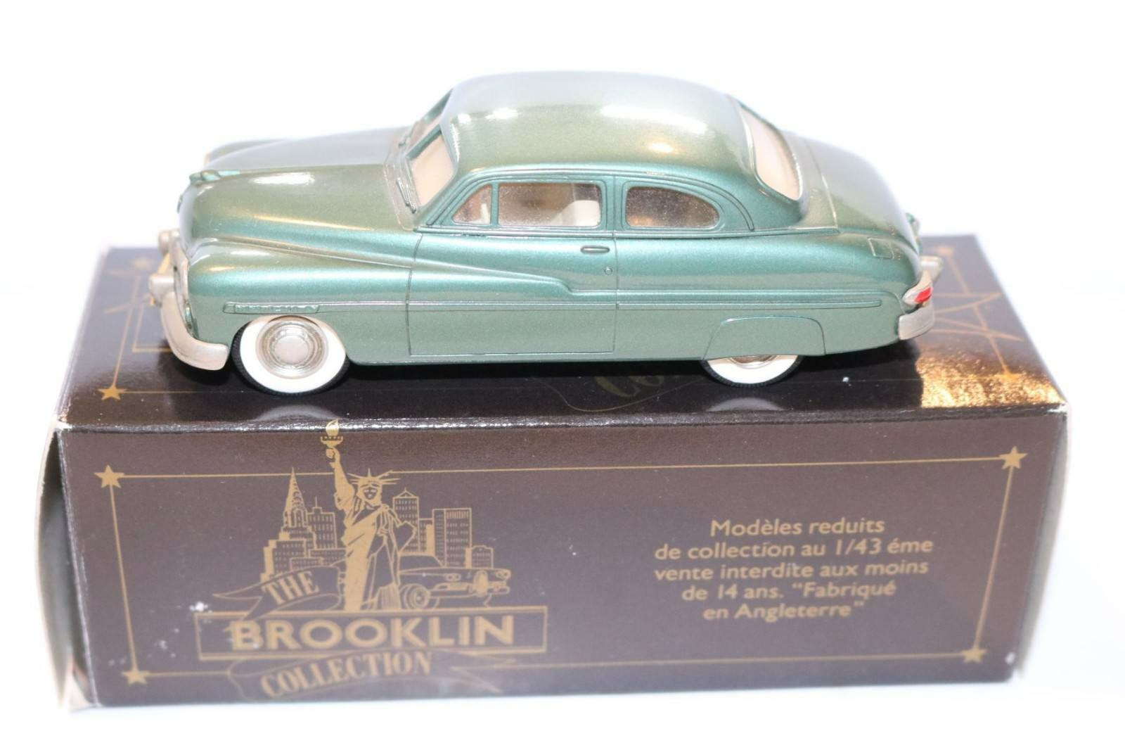 Brooklin BRK 15 Mercury 2 door coupe 1949 1 43 perfect mint in box