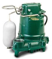 Zoeller 53-0001 Automatic Sump Or Effluent Pump, 0.3 Hp 115v - M53 Series
