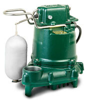 Zoeller 53-0001 Automatic Sump Or Effluent Pump, 0.3 Hp 115v - M53 Series