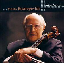 Artist Portrait: Mstislav Rostropovich CELLO CD EXCELLENT