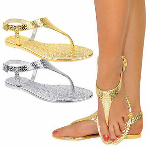 LADIES-WOMENS-JELLY-BEACH-SUMMER-FLIP-FLOPS-TOE-POST-THONG-SANDALS-SHOES-SIZE