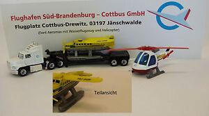 Matchbox-Convoy-Ford-Aeromax-Flughafen-Drewitz-Set-DEUTSCH-PROMO