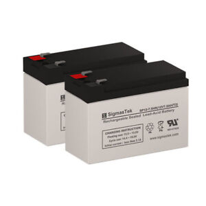 12V 7.2Ah F2 Replacement Battery Set for HP PowerWise 1000