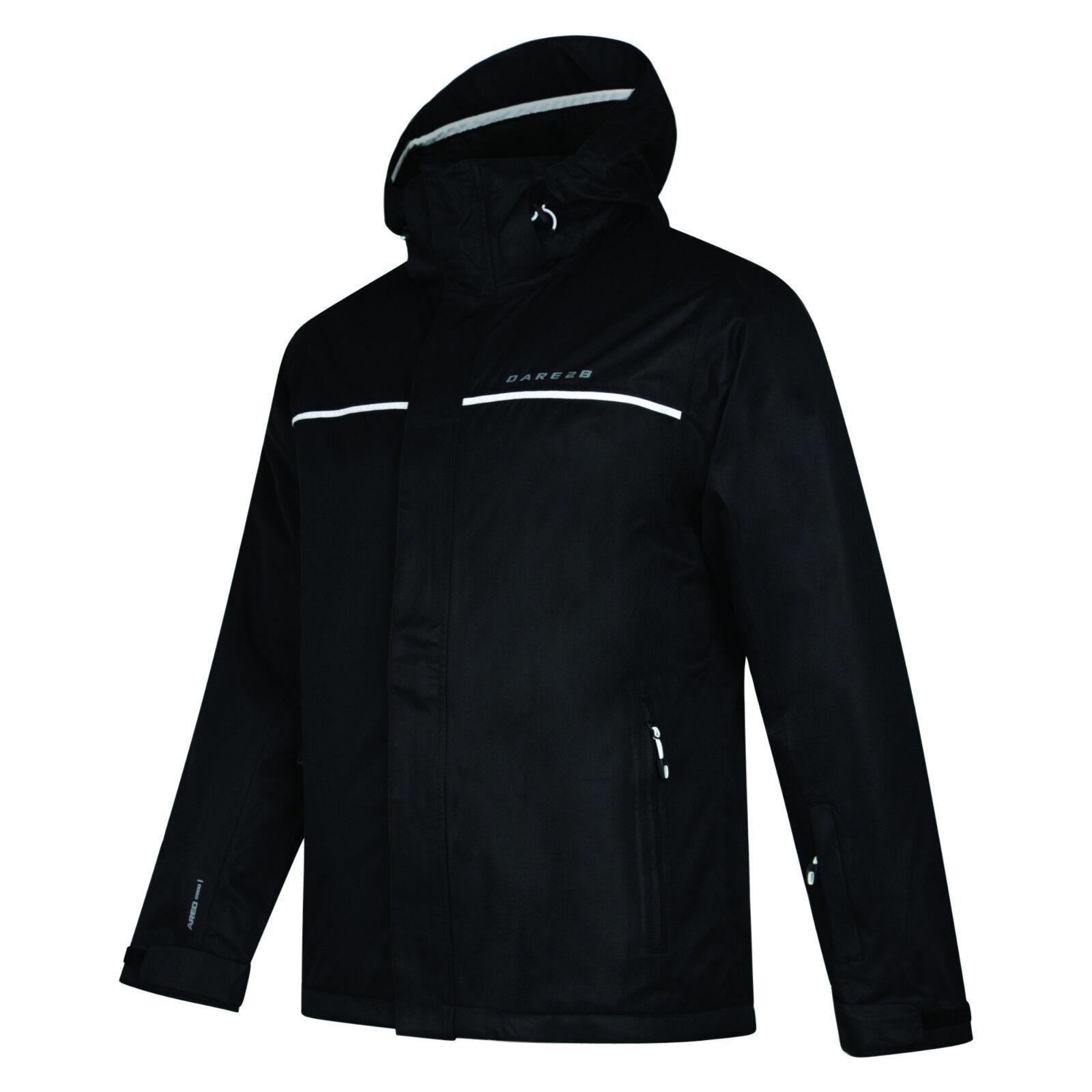 DARE2B verlässliche auf herren Ski Snowboard Snowboard Snowboard jacke schwarz Größen S - 3XL d13adf