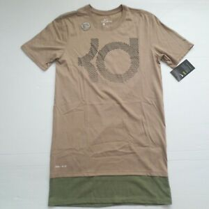 huge selection of e234a ee5a4 Image is loading Nike-Men-Kevin-Durant-KD-Dry-Pearl-Shirt-