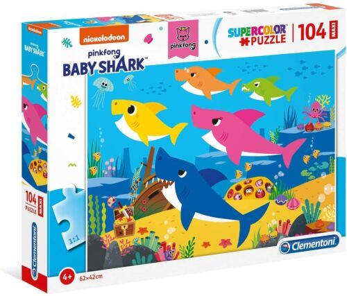 PUZZLE 104 PZ MAXI BABY SHARK BABY SHARK X19056 GIODICART