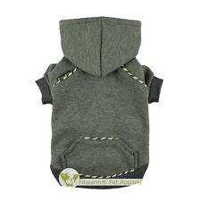 "Fitwarm 16""Chest Boy Winter Pet Clothes Coat Medium Dog Hoodies Fleece Sweater"