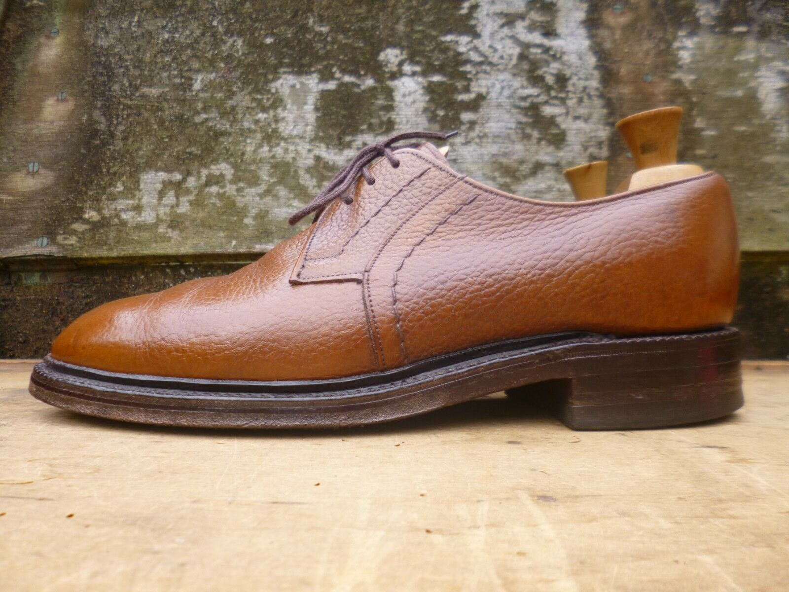 CHEANEY / CHURCH DERBY – BROWN / TAN – UK UK UK 8.5 – MOLTON – VERY GOOD CONDITION 3084d7