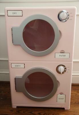 Pottery Barn Kids Washer Dryer Kitchen Pink Retro Rare Htf