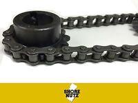 #40 (40-1) Roller Chain 10FT W/ 2 Master Links ANSI  40-1R GO KART CART 40R