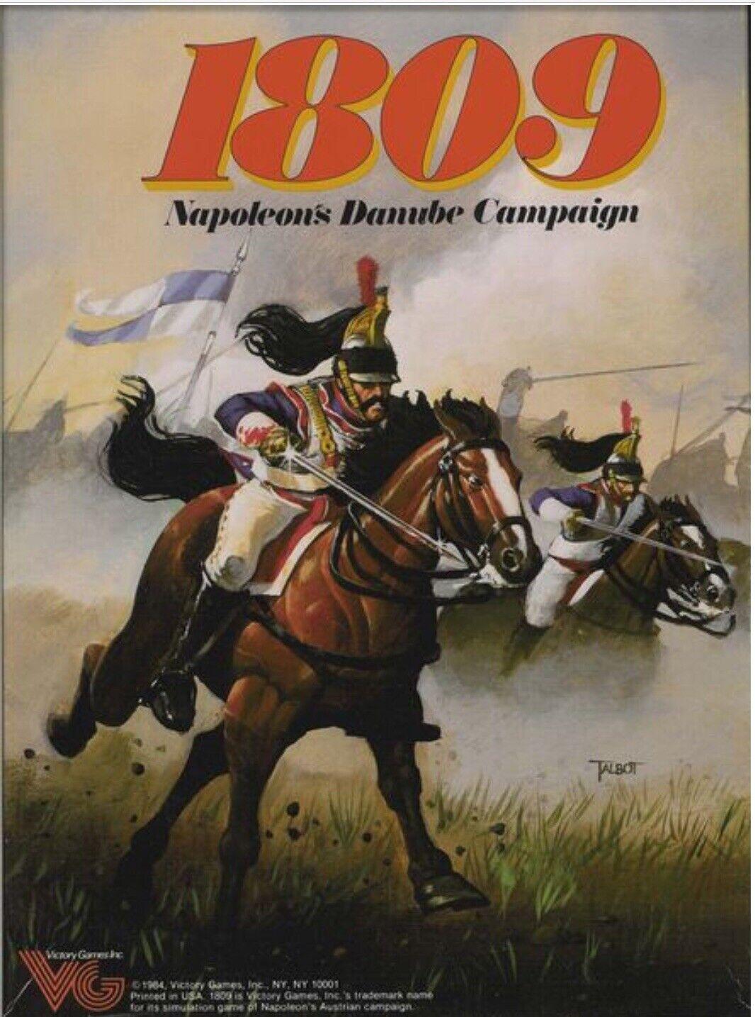 Victoria warJuego 1809-Napoleón Danubio campaña ENLOMADOR
