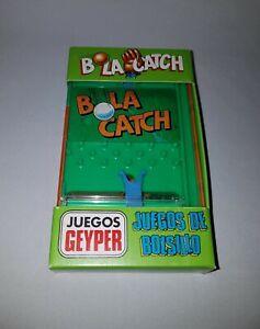 """ANTIGUO JUEGO GEYPER """" BOLA CATCH """" Ref. 778 JUEGOS DE BOLSILLO GEYPER - 1980"""