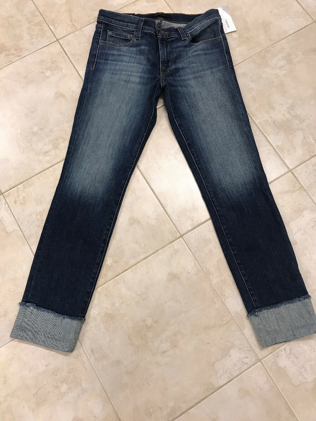 New J Brand Jasper Hipster Low Rise Jasper Jeans Size 27