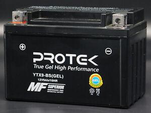 YTX9-BS CTX9-BS 12V 9Ah Sealed GEL Battery for 1996-2019 Suzuki GSXR600 GSXR750
