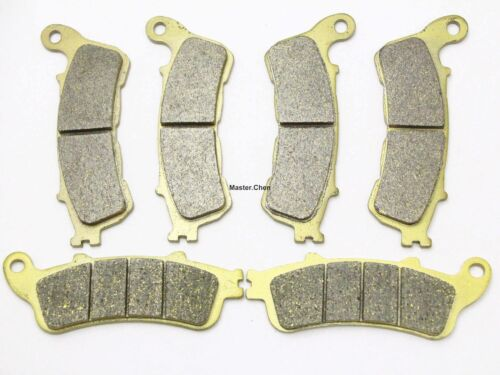 Front Rear Brake Pads For Honda VFR 800 A Interceptor ABS 2006-2011 FA388-261
