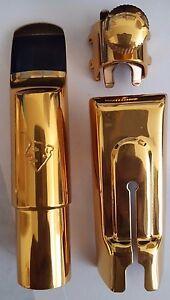 Winston & Issac Soprano saxophone sax metal mouthpiece size A-7 New Condition!