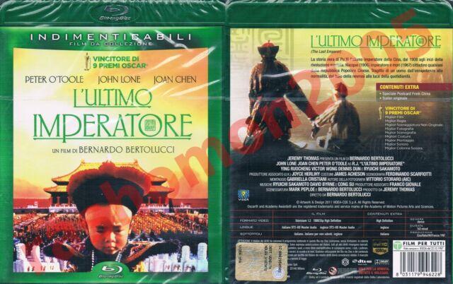 Blu-Ray THE LAST EMPEROR John Lone Joan Chen Bernardo Bertolucci Region B/2 NEW
