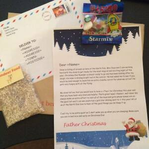 Personalised letter from santa haribo reindeer food envelope image is loading personalised letter from santa haribo reindeer food envelope spiritdancerdesigns