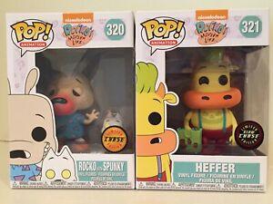 Funko POP Animation ~ ROCKO /& HEFFER VINYL FIGURE SET ~ Rocko/'s Modern Life