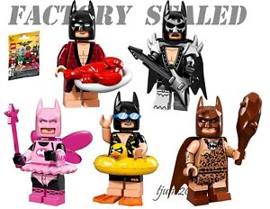 LEGO Batman Movie Series 71017 Minifigures Minifigure Lobster Vacation Fairy