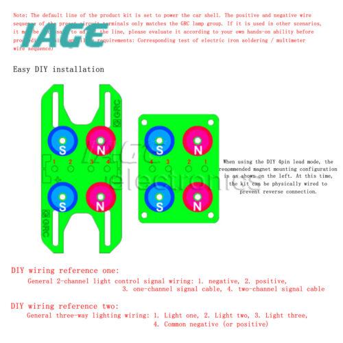 1:8 1:10 RC Auto Magnet Netzteil Karosseriehalter Set für TRX-4 SCX10 RC4WD D90
