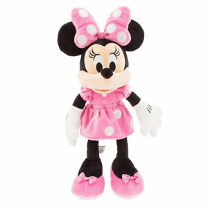 Disney-Store-Authentic-Minnie-Mouse-Pink-Plush-Toy-18-034-Soft-Doll-Girls-Gift-NWT