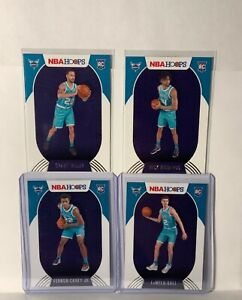 2020-21 Nba Hoops Lamello Ball Rookie Card Charlotte Hornets rookie Lot