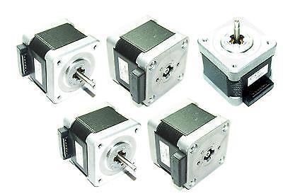 50 Nema 17 Japan Servo Stepper Motors 51.2oz//in Mill Robot RepRap Makerbot Prusa