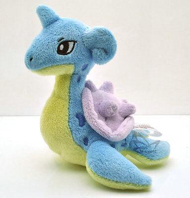 "New  6"" Lapras Pokemon Rare Soft Plush Toy Doll/PC1732"