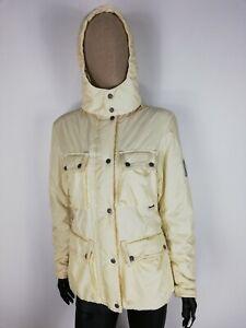 BELSTAFF-Cappotto-INVERNALE-CON-RIVESTIMENTI-IN-PELLE-Jacket-Giacca-Tg-44-Donna